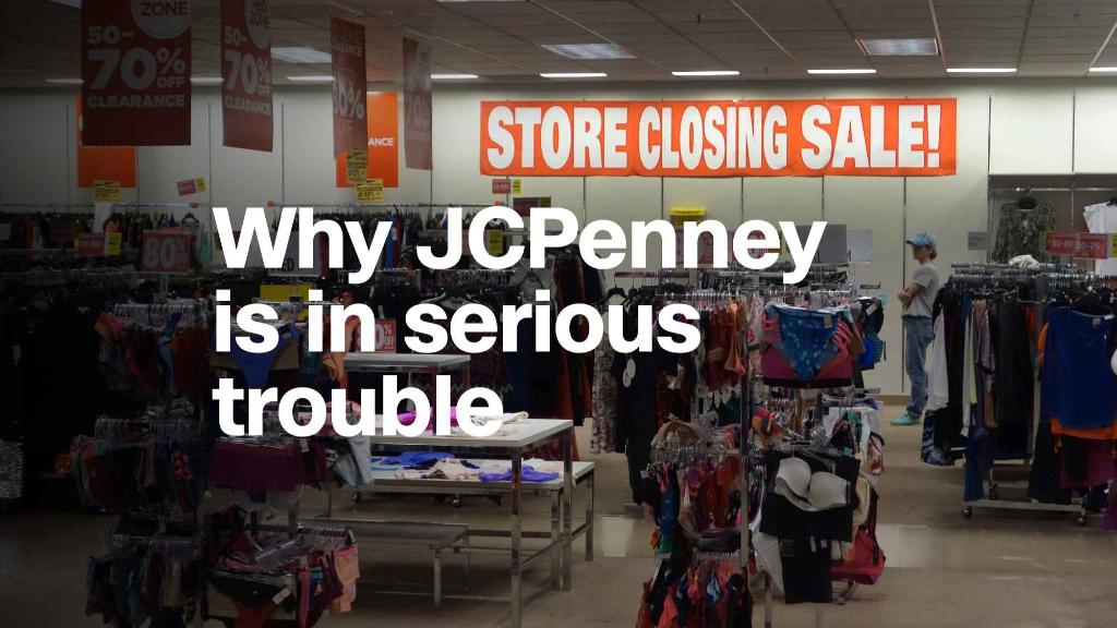 Why JCPenney is in serious trouble